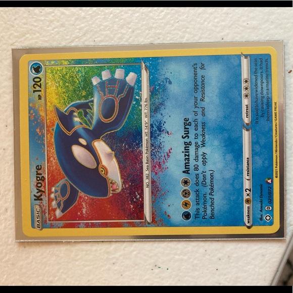 MINT/NM Amazing Rare Kyoger Pokémon shining